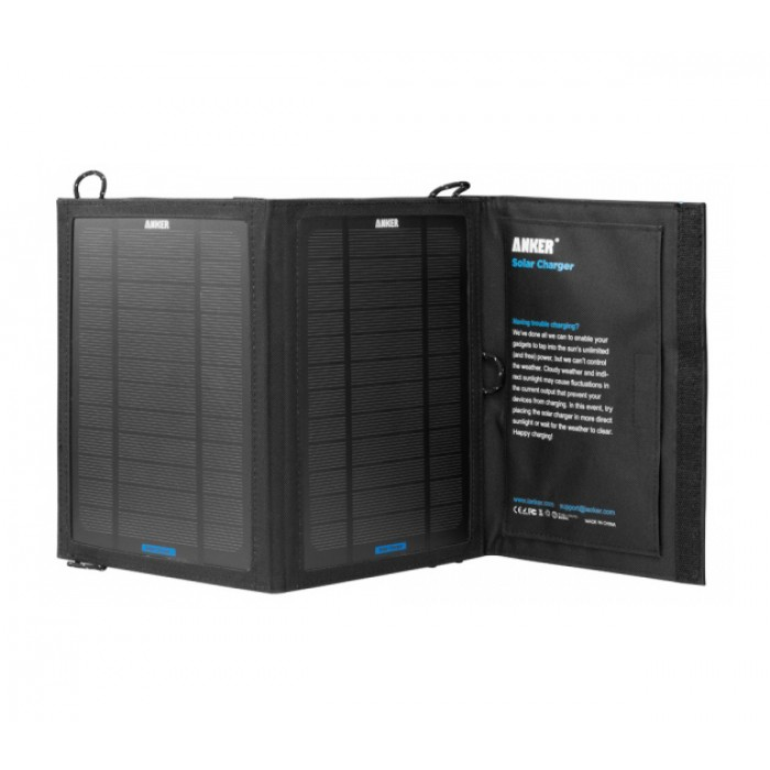 pin Anker 8W Portable Foldable Outdoor Solar Charger