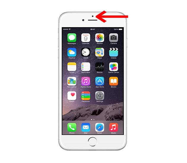 Lỗi mất cảm biến áp tai - IPhone 6s Plus