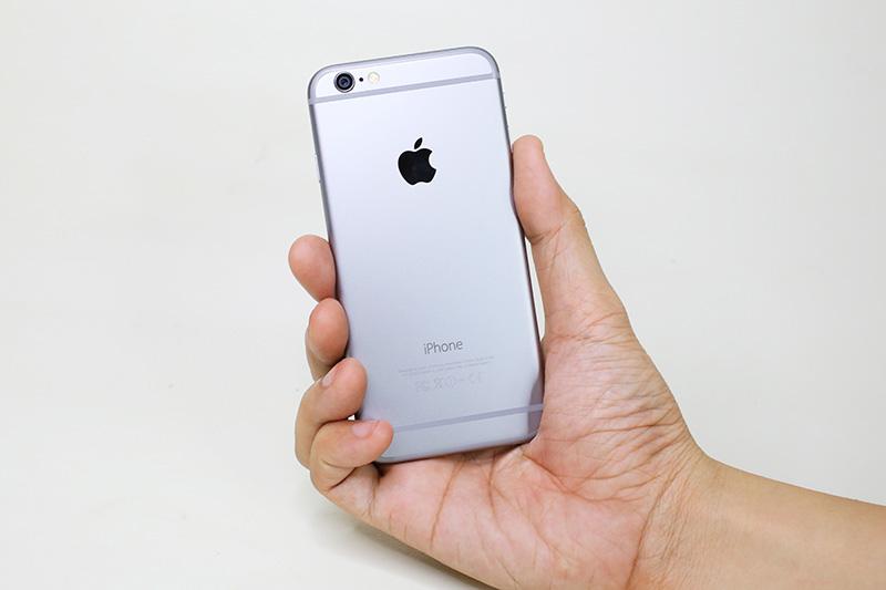 trên tay iphone 6