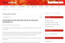 website halomobile