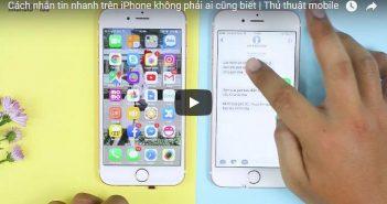 Cách nhắn tin nhanh trên iPhone không phải ai cũng biết