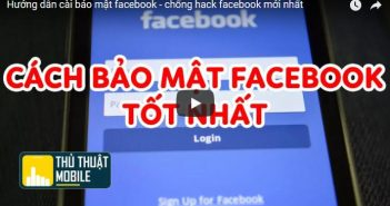 Hướng dẫn cài bảo mật facebook - chống hack facebook mới nhất