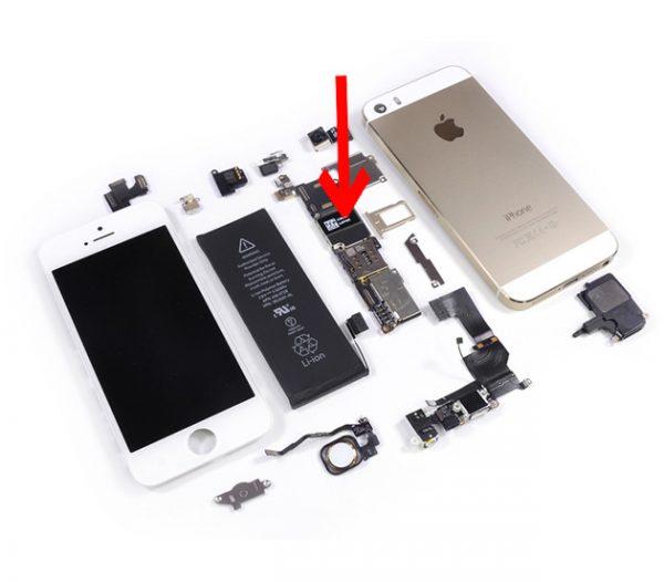 Lỗi không sạc (Lỗi IC nguồn) - iPhone 5s