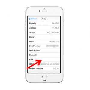 Lỗi no all (Mất IMEI) - iPhone 6s