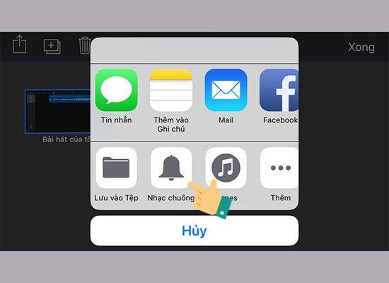 thay đổi nhạc chuông cho iPhone