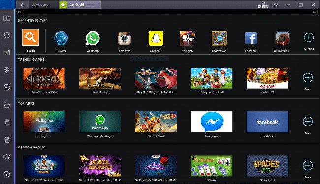 Android BlueStacks