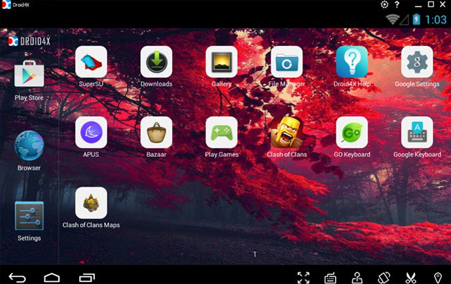 Android Droid4X hay Android4X
