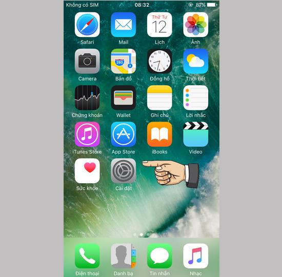 giao dien iphone