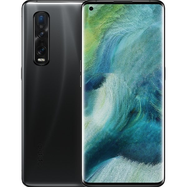 oppo find x2 pro black halo mobile