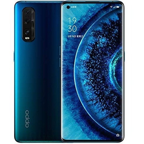 oppo find x2 pro blue halo mobile