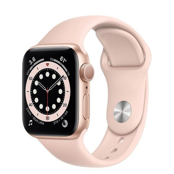 Apple Watch S6 gold halo mobile