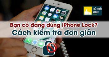 check iphone lock