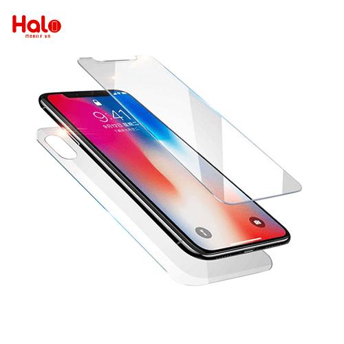 miếng dán màn hình iphone trước sau