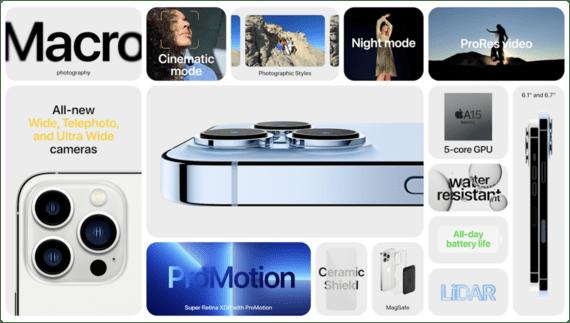 cấu hình iphone 13 pro max