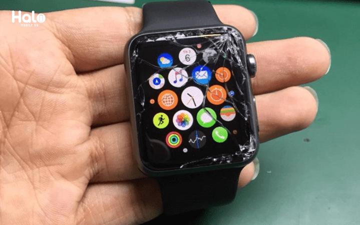 Thay kính cảm ứng apple watch