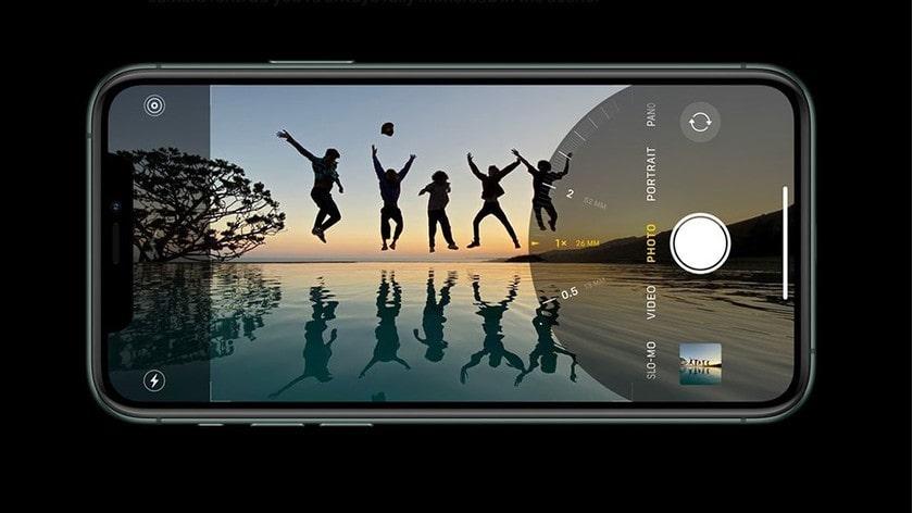 quay phim iphone 11 pro