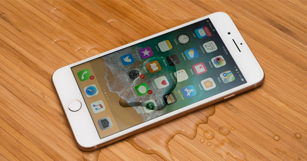 iPhone 6s có kháng nước nhẹ